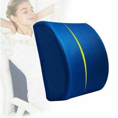 lumbar cushion back support travel pillow foam