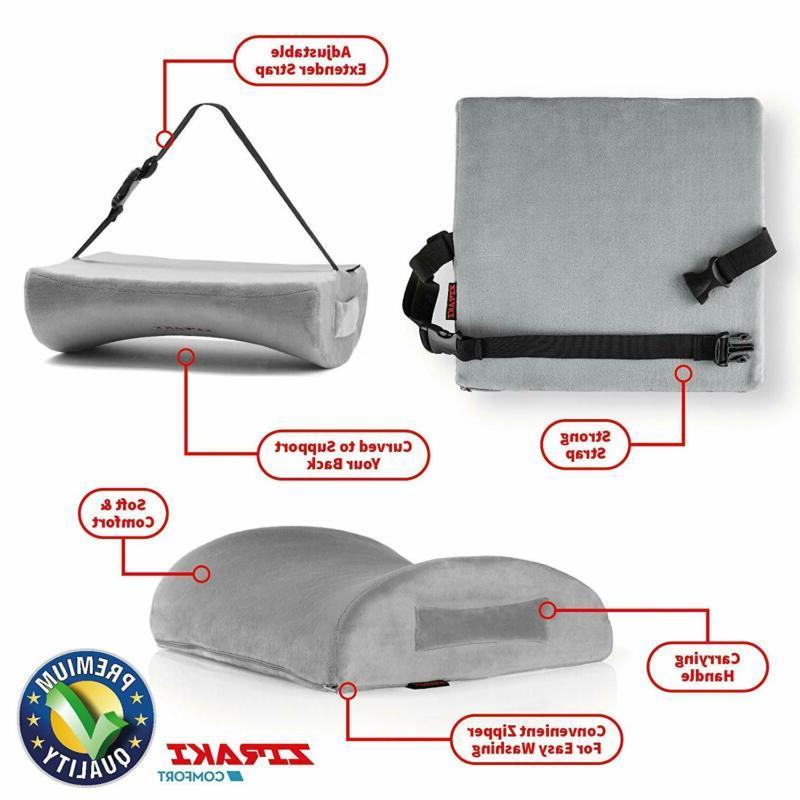 ZIRAKI Pillow Seat or Office Chair | Memory Foam,