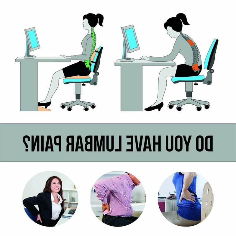 ZIRAKI Seat Cushion or Chair Memory Foam,