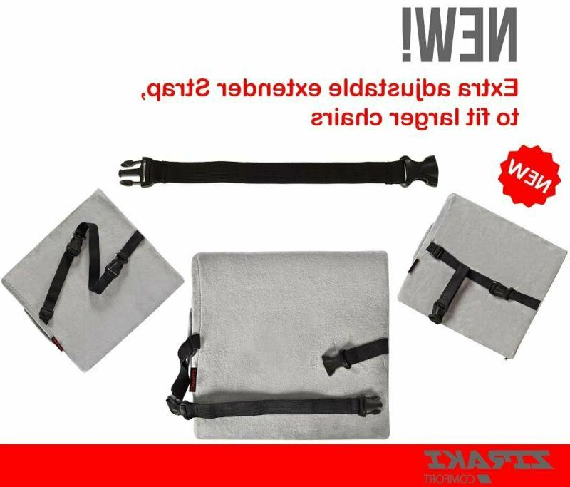 ZIRAKI Pillow Seat Cushion or Office Memory Foam,