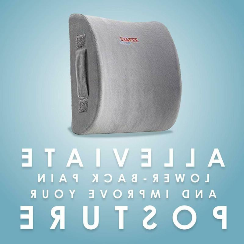 ZIRAKI Lumbar Pillow Seat or Memory Foam,