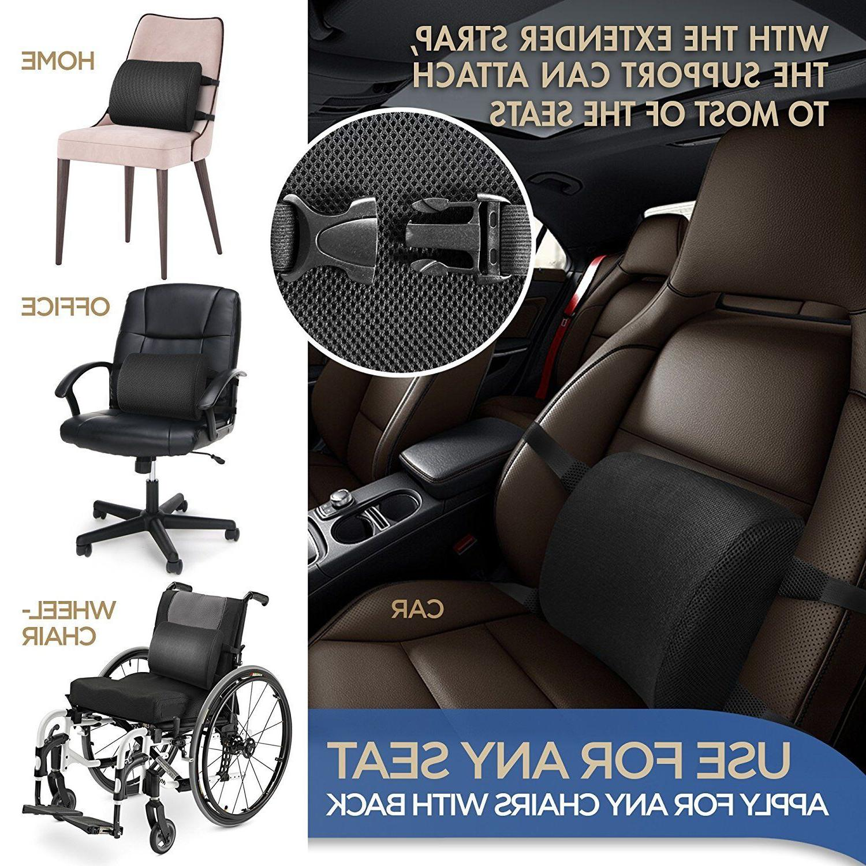 Lumbar Chair Back Foam Ergonomic