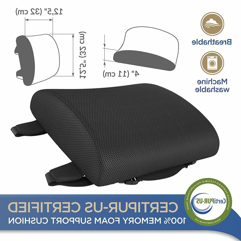 Lumbar Support Pillow Chair Foam