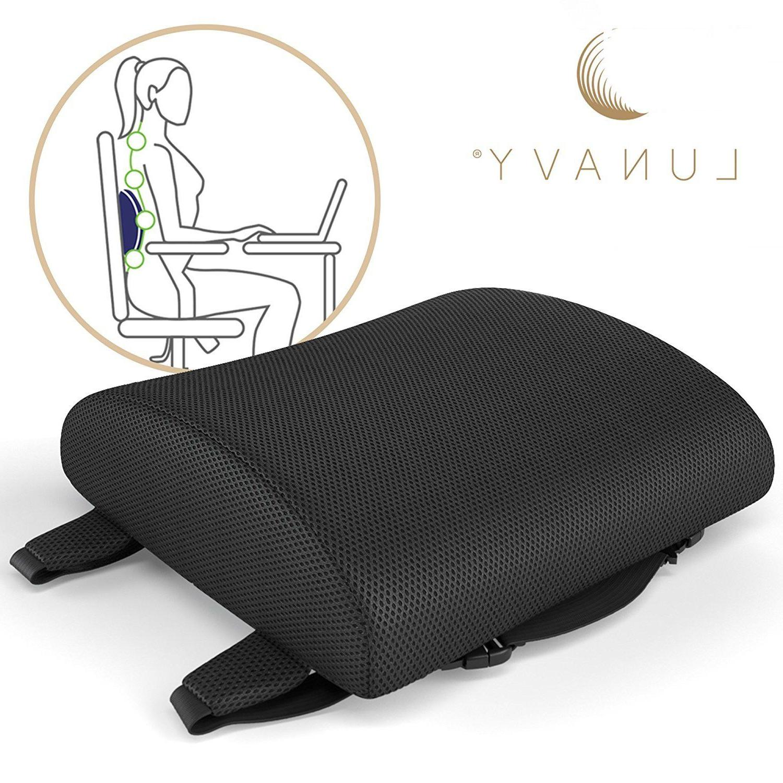 lumbar support pillow seat chair back cushion