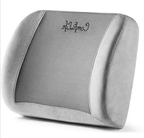 lumbar support with memory foam for office