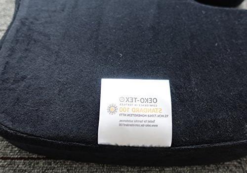 Oriental Luxury Pure Foam Cushion for Relief Sciatica Tailbone - for Car