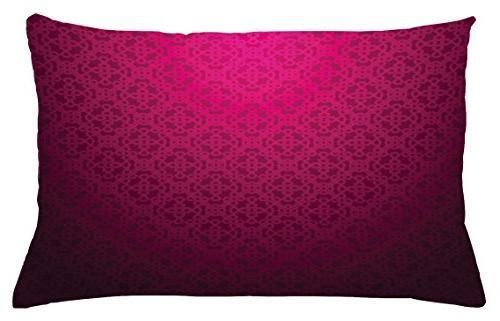 magenta throw pillow cushion cover
