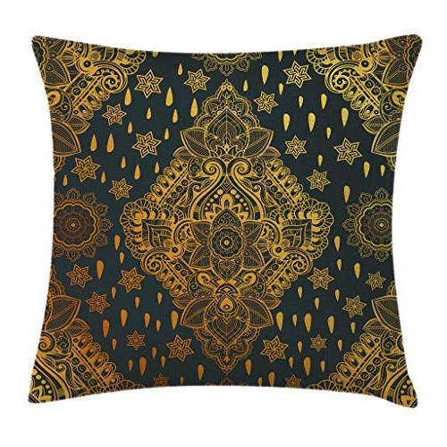 mandala throw pillow cushion cover