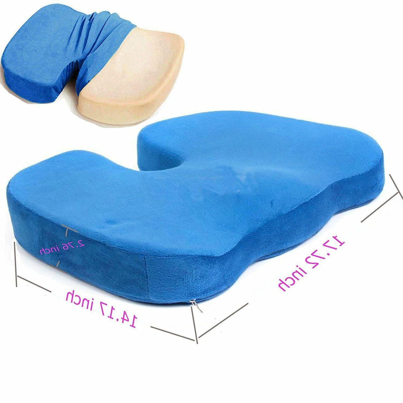 Memory Foam Seat Lumbar Support