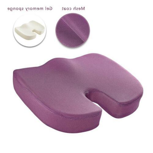 Memory Foam Tailbone Seat Orthopedic Car Pillow