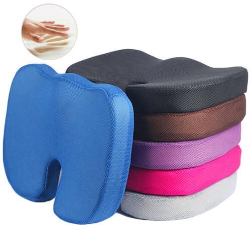 memory foam coccyx tailbone seat cushion orthopedic