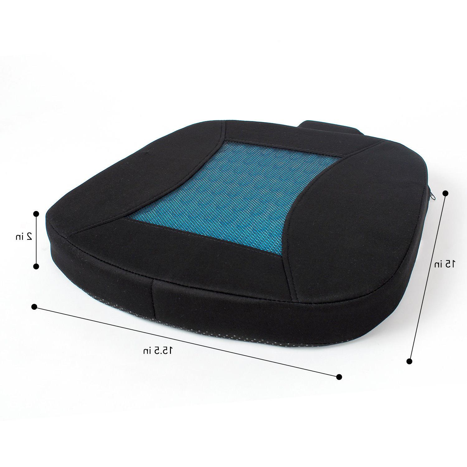 Memory Foam Seat Cushion for Office Chair, Car Seat &