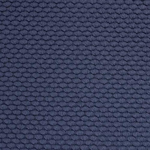"Sweet Collection Foam Chair Honeycomb Pattern Non Skid Rubber Ultimate Comfort and Rounded 16"" x 16"" Seat Cover, Pack, Navy 4"