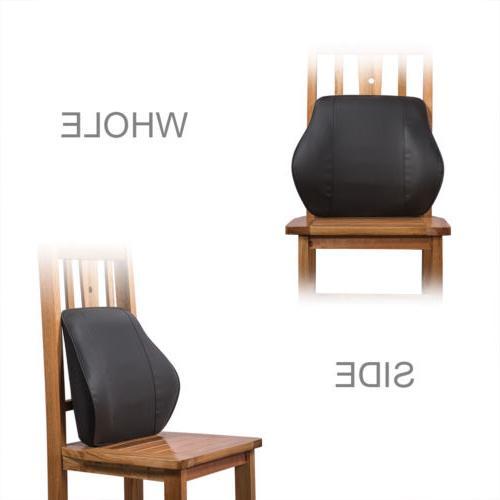 Memory Foam Cushion Back Support Car Chair