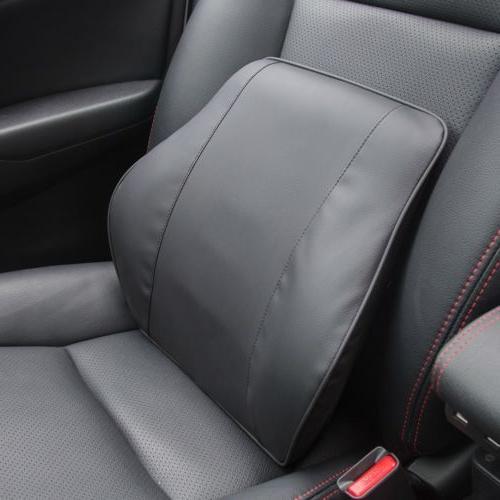 Memory Foam Lumbar Cushion Back Support Travel Pillow Car Se