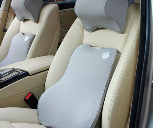 Memory Foam Lumbar Cushion for Car Seat Back Chair