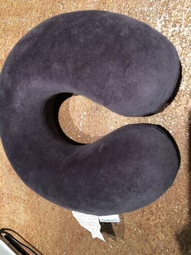 memory foam neck pillow grey new never