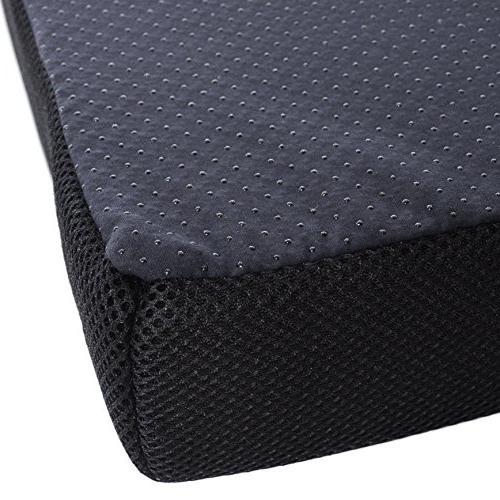 """Milliard Memory Foam Cushion/Chair 16 x 3"""" with Washable for and"""