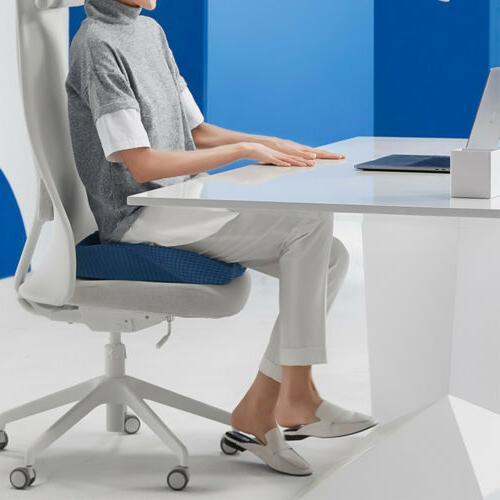 Memory Coccyx Tailbone Seat Cushion Orthopedic Car Chair Pillow