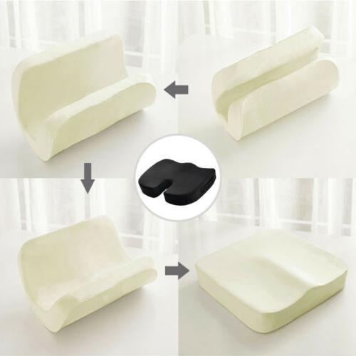 Memory Foam Coccyx Seat Car Chair