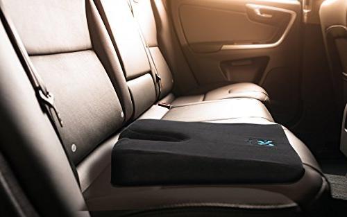 Everlasting Memory Wedge Cushion, Heat Orthopedic U Cut-Out to Relieve Cushion