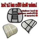 Zone Tech Mesh Back Pain Massage - Lumbar Support Cushion Ch
