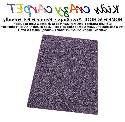 misty lilac kids crazy carpet