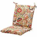 Pillow Perfect MODERN FLORAL Patio Outdoor Multicolored Squa