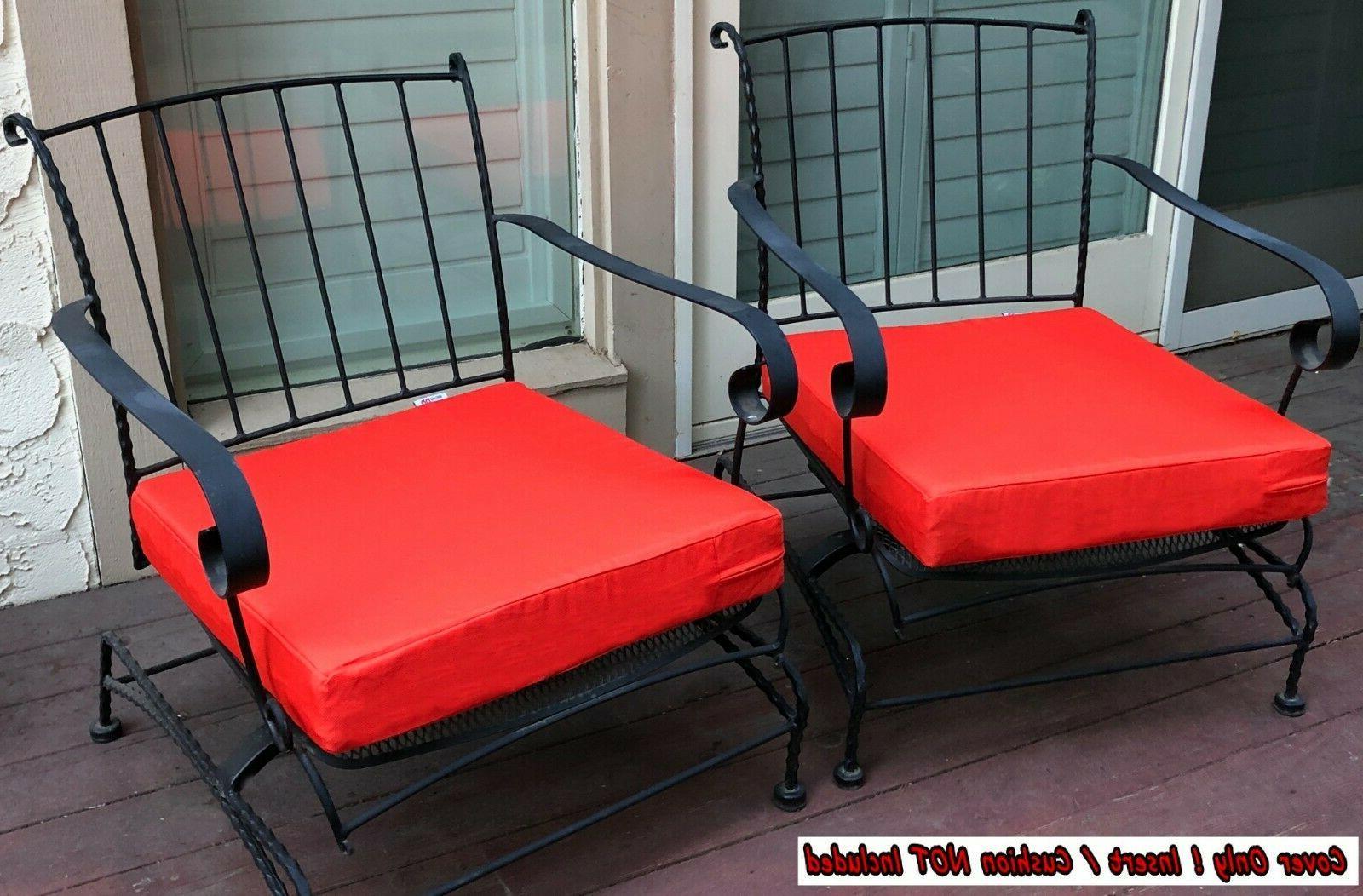 Chair Cushion Cover Case Tango