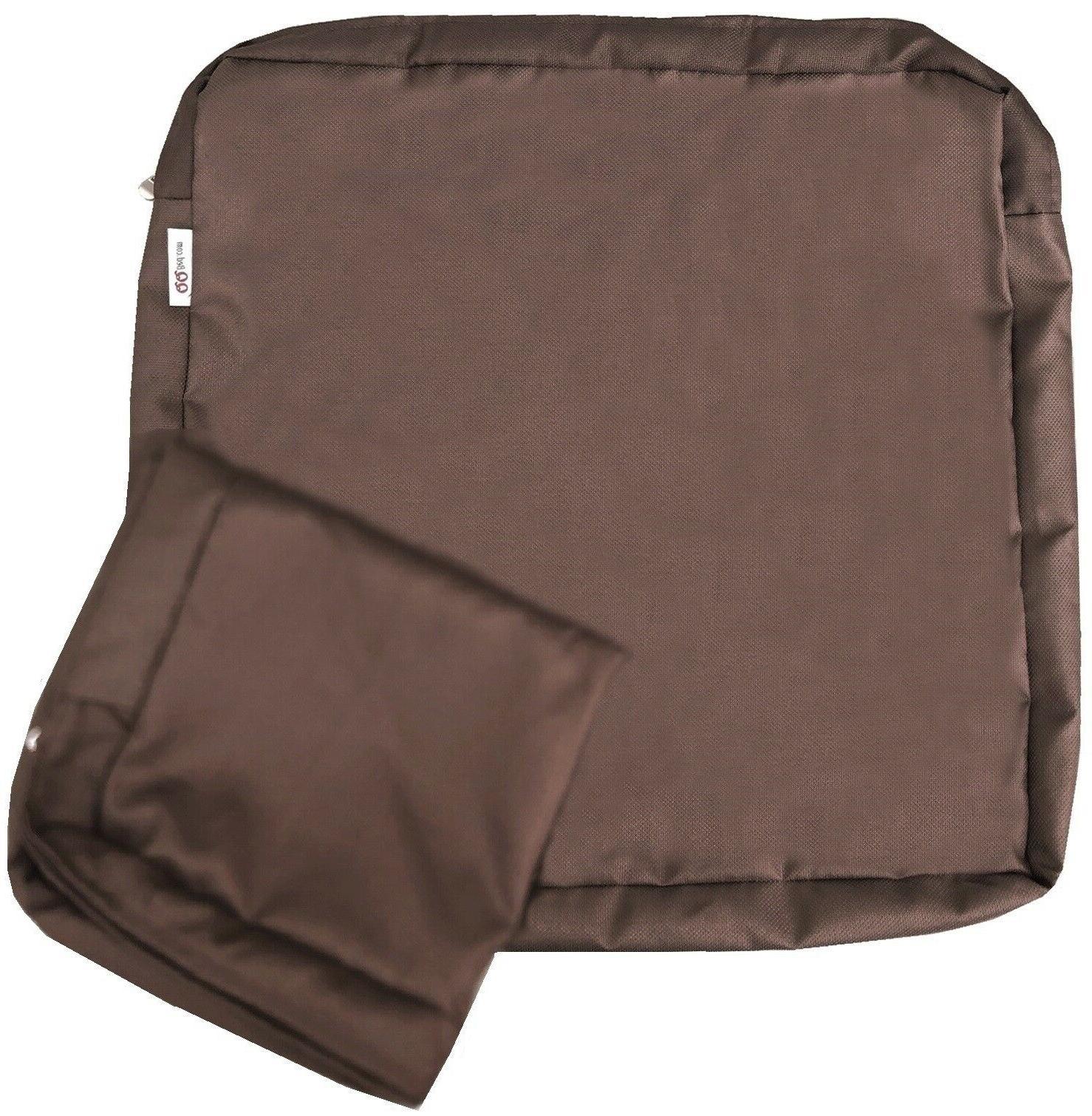 "Outdoor Pack Seat Chair Cushions Zipper 18""X16""X4"" M"