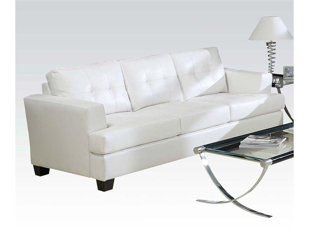 New Acme 1pc Sofa Tufted Seat & Back Sofa Loveseat Cushion W