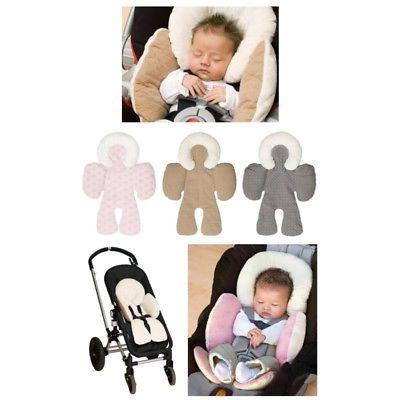 Newborn Car Seat Stroller Liner Pushchair Cotton Cover