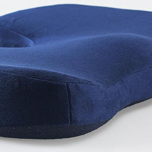 M MOCHOHOME Orthopedic Foam Chair and Car Cushion for and Purple