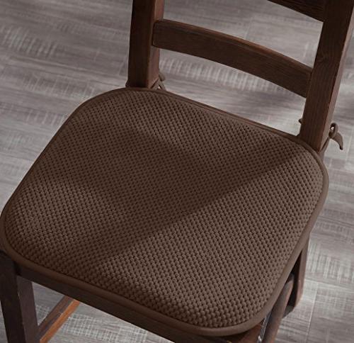 Ellington Home Non Memory Cushion Chair Ties - - Set - Brown
