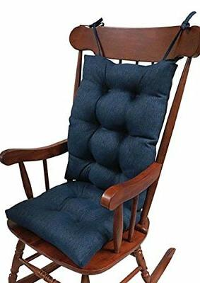 The Gripper Non-Slip Omega Jumbo Rocking Chair Cushions, Ind