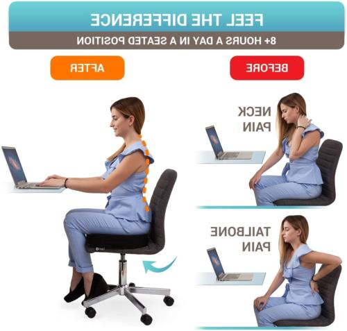 Office Orthopedic Car Tailbone Memory Foam