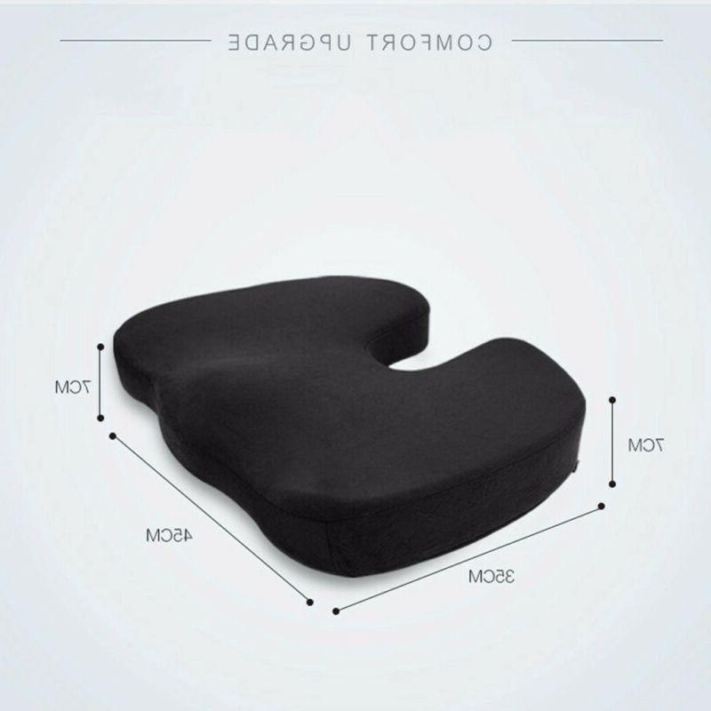 Office Seat Gel Memory Foam Pad Support