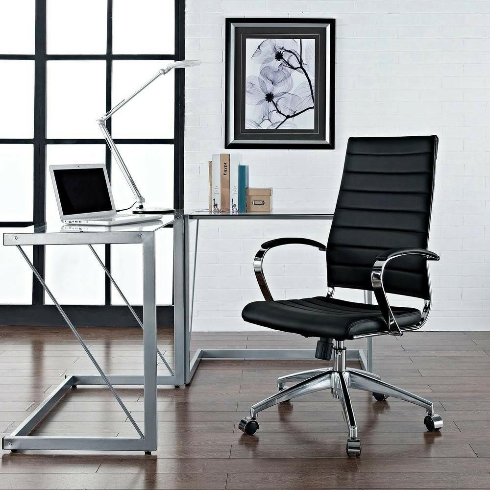 Office Chair Swivel Black Finish Elegant Functional Seat Cus