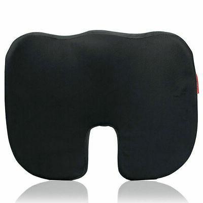 office coccyx orthopedic memory foam gel seat