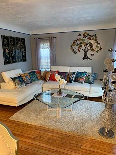 6 Pack Oil Cotton Pillow Case Cushion Sofa Decorative 18 X 18 Inch