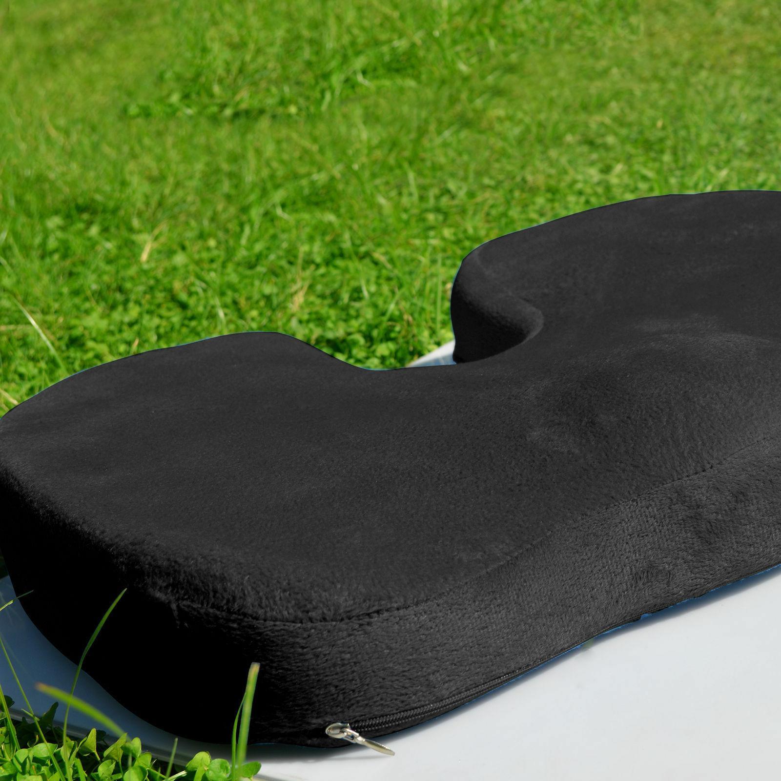 Orthopedic Comfort Coccyx Seat Back Lumbar Cushion Set