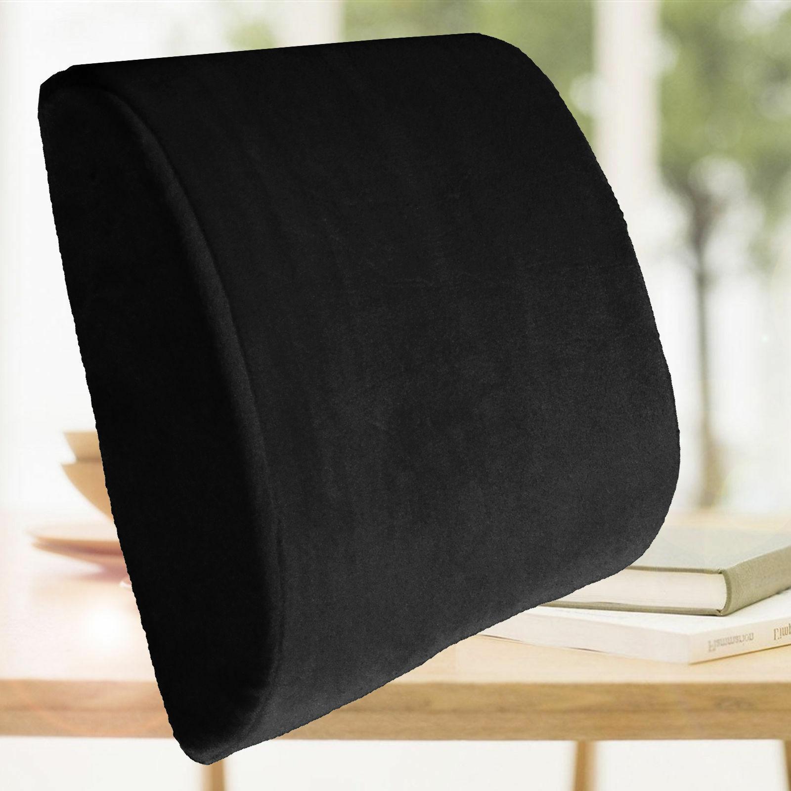 Orthopedic Memory Coccyx Seat Back Support Lumbar Set