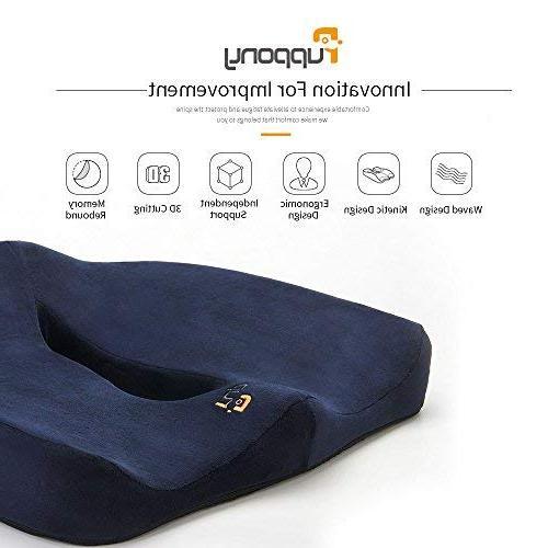 Puppony Orthopedic Comfort Foam Seat Cushion