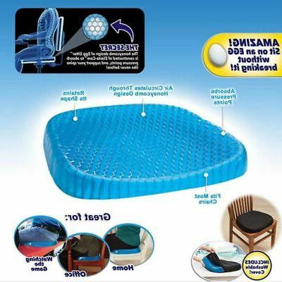 Orthopedic Cooling Gel Coccyx Seat Cushion Foam Pad