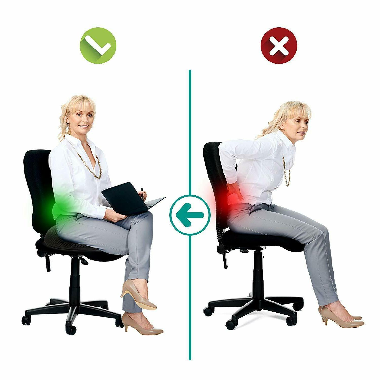 Orthopedic Cushion Memory Foam & Coccyx Memory