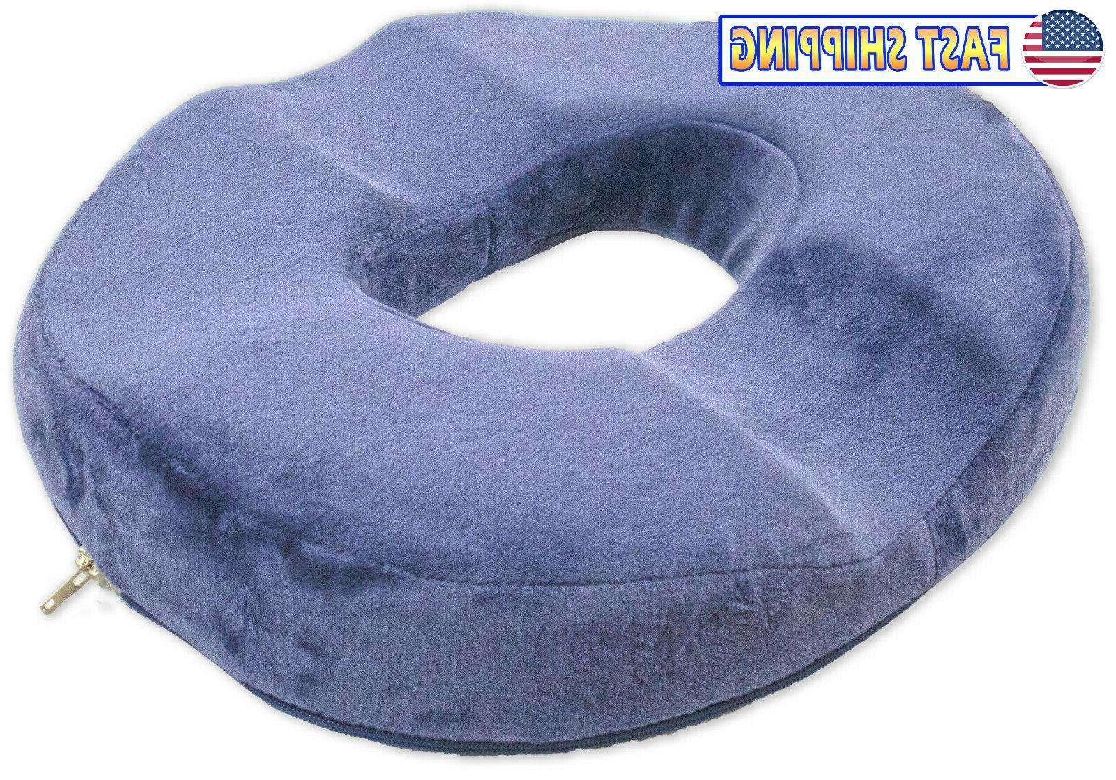 orthopedic donut seat cushion memory foam cushion