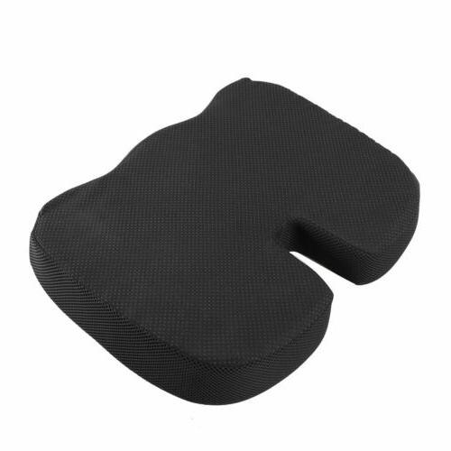 Extra Large Orthopedic Seat Cushion Coccyx Memory Foam Gel Pillow Pain