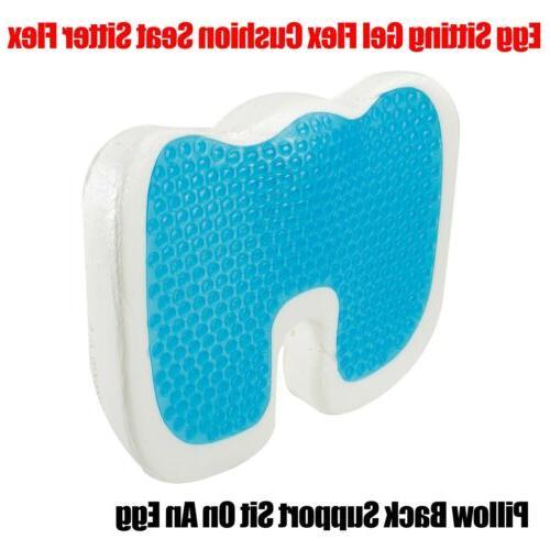 orthopedic gel seat cushion memory foam office