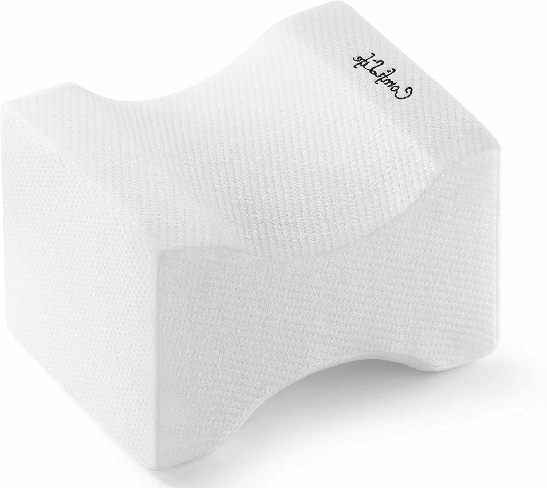 ComfiLife Orthopedic Memory Foam Knee Pillow for Sciatica Re