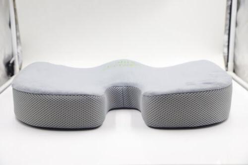 Memory Seat Cushion for Back Tailbone Pain Pillow